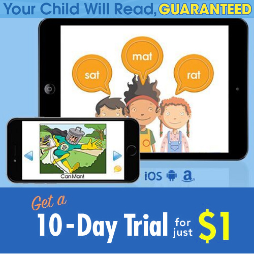 Hooked on Phonics 10-Day Trial : Only $1