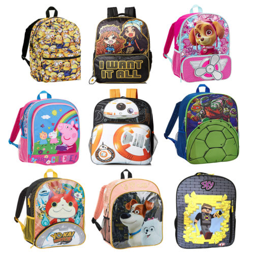 Kids' Backpacks : 2 for $7.48 + Free S/H