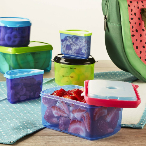60% off 14-PC Chilled Lunch Container Set : Only $6.40