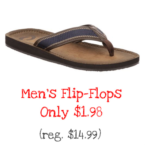 87% off Men's Flip-Flops : Only $1.98