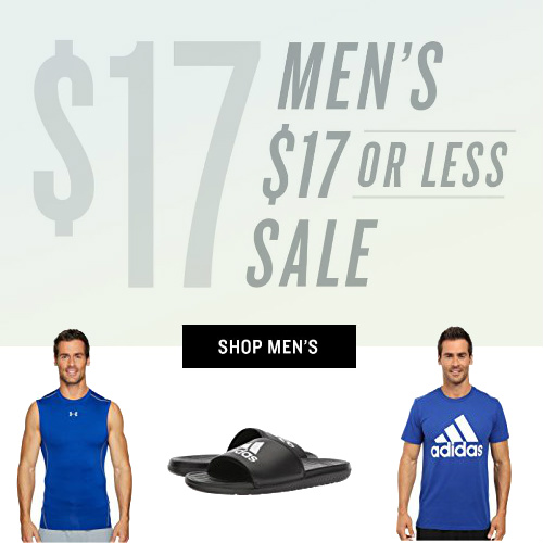 Up to 83% off Men's Clothes, Shoes & Accessories : Everything under $17