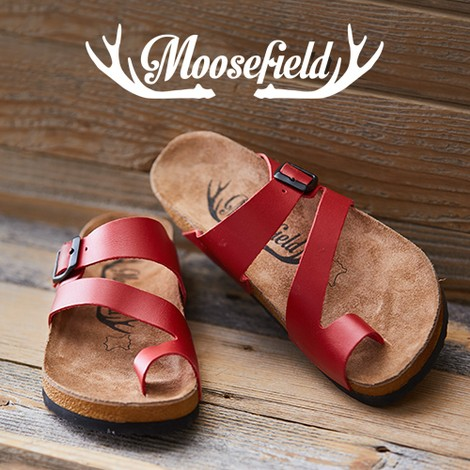 63% off Moosefield Leather Sandals : Only $39.99