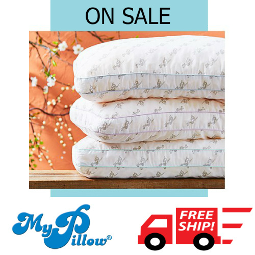 Up to 70% off MyPillow Clearance : Only $29.99 + Free S/H