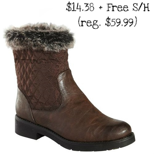 76% off Women's Patrizia Quilted Boots : $14.38 + Free S/H