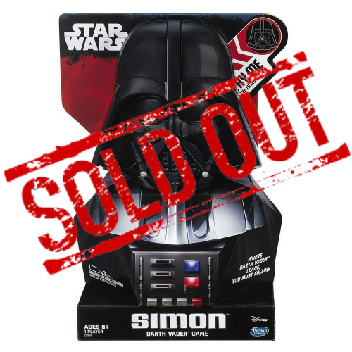 84% off Simon Darth Vader Game : Only $3.99 + Free S/H
