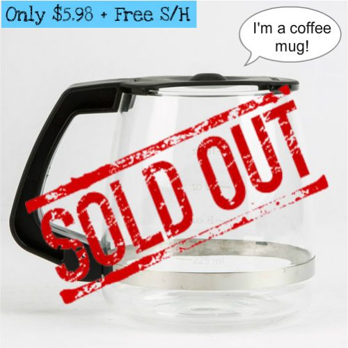 63% off Coffee Pot Style Coffee Mug : $5.98 + Free S/H
