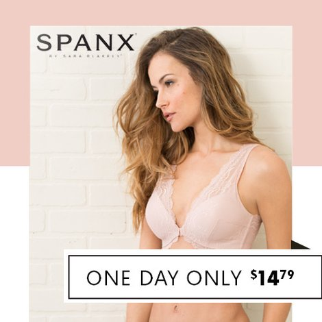 70% off Spanx Lace Bras : Only $14.79