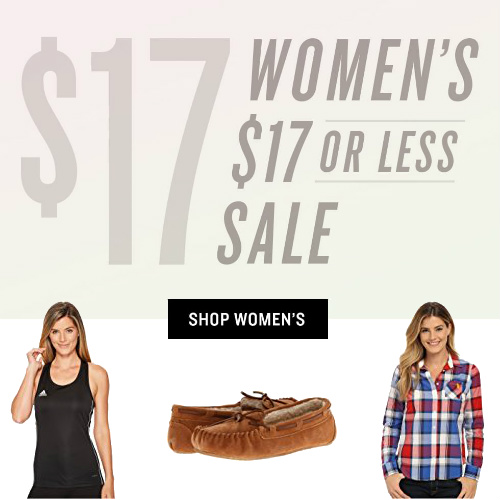 Up to 90% off Women's Clothes, Shoes & Accessories : Everything under $17