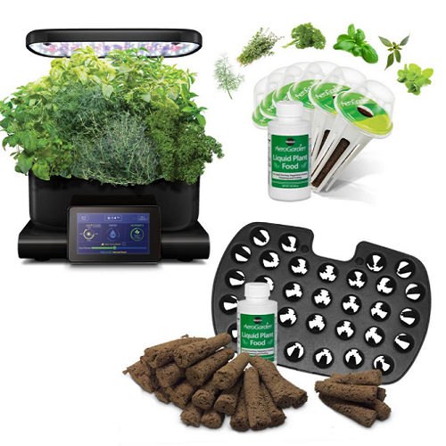 51% off AeroGarden Harvest Touch Bundle : $109.97 + Free S/H