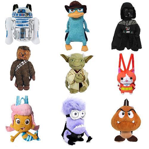 80% off Kids' Mini Character Backpacks : $5.99 + Free S/H