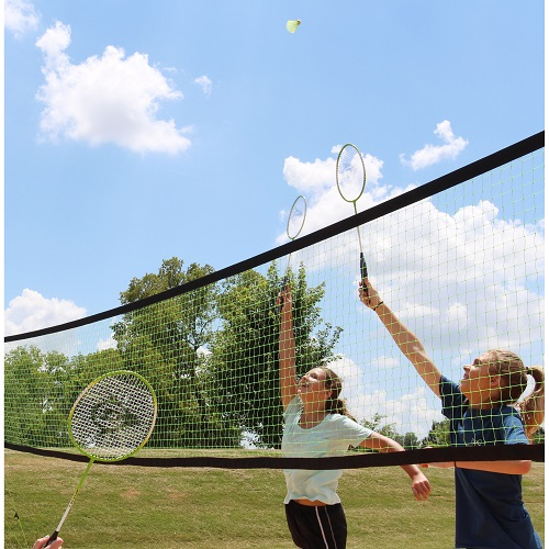 51% off Dunlop Volleyball & Badminton Set : $35 + Free S/H
