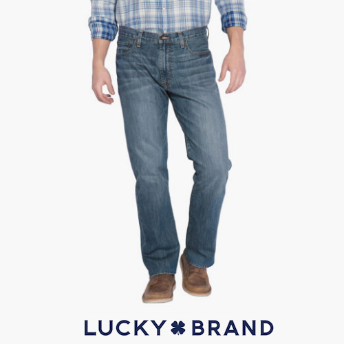 70% off Men's Lucky Brand Relaxed Fit Jeans : $29.99 + Free S/H
