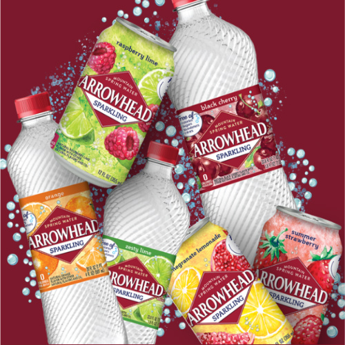 Coupon for a Free 8-PK of Arrowhead Sparkling Water