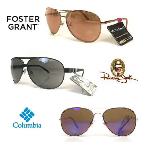 75% off 2 Pairs of Aviator Sunglasses : Only $9.99 + Free S/H