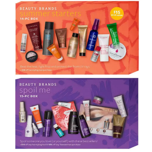 91% off Beauty Brands Discover Boxes : Only $11.50