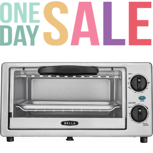 50% off Bella Toaster Oven : Only $14.99