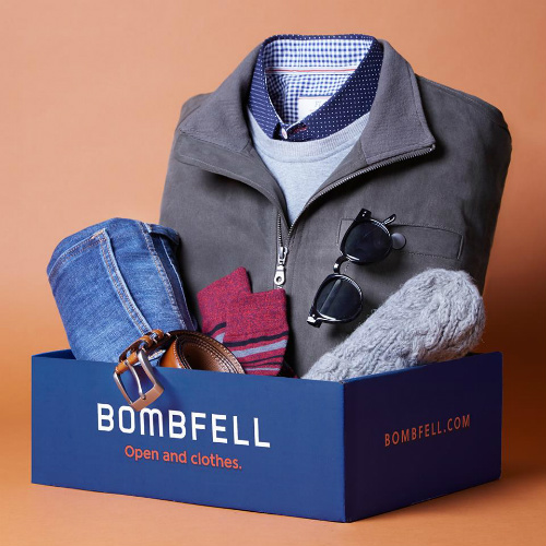 Bombfell Men's Clothing : $15 off Your First Purchase
