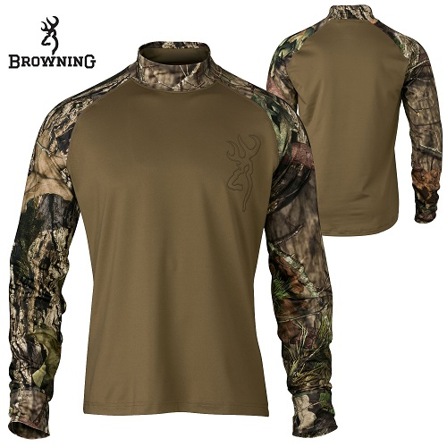 75% off Men's Browning Base Layer Shirts : Only $19.78