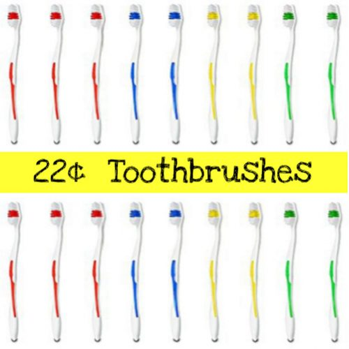 40-PK Medium Soft Full Head Toothbrushes : Only $8.99 + Free S/H