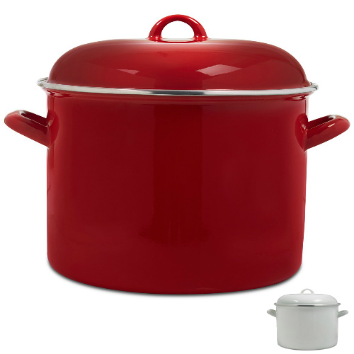 64% off 10-Qt Enamel-Coated Stockpot : Only $16.13