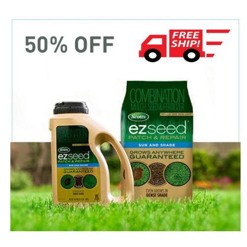 Scott's EZ Grass Seed : 50% off + Free S/H