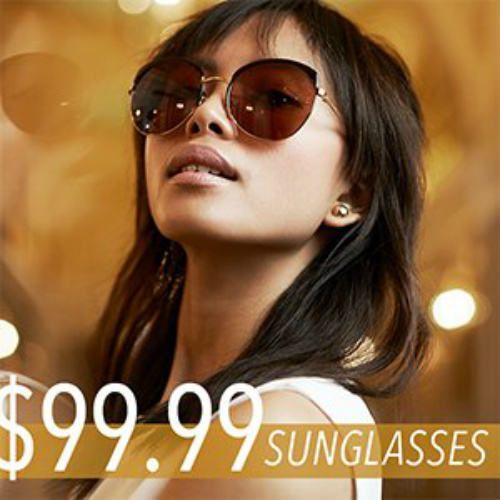 Up to 82% off Fendi & Prada Sunglasses Clearance : All Styles $99.99