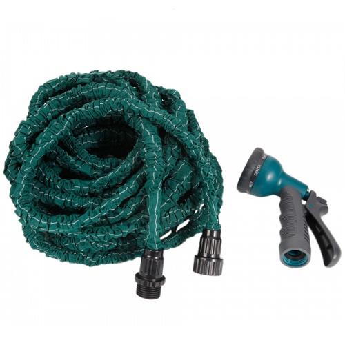 48% off 50-FT Flexible Garden Hose + Sprayer : $15.03 + Free S/H