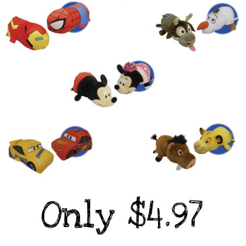 75% off FlipaZoo Disney Character Plush : Only $4.99