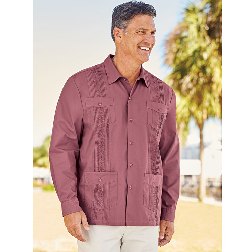 Up to 77% off Men's Guayabera Shirt : Only $9.87 + Free S/H