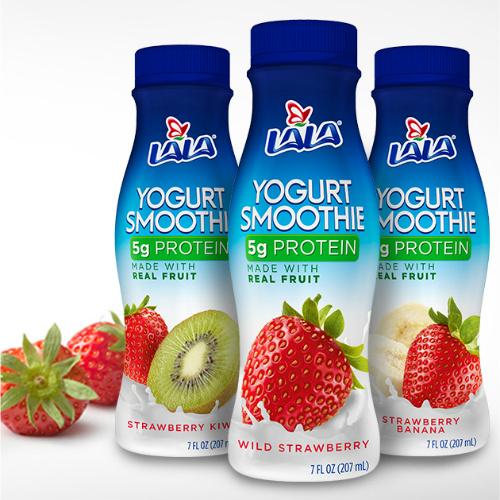 Free 4-PK of Lala Yogurt Smoothies