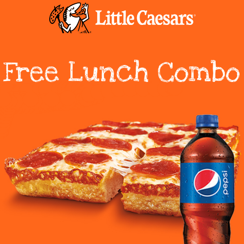 Little Caesar's : Free Lunch Combo