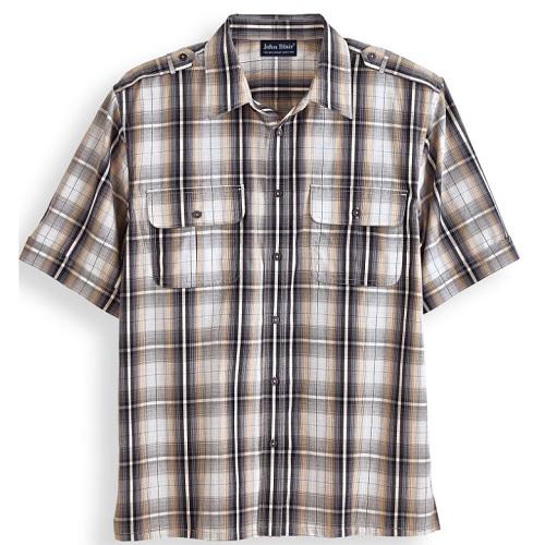 78% off Men's Pilot Shirt : $5.97 + Free S/H