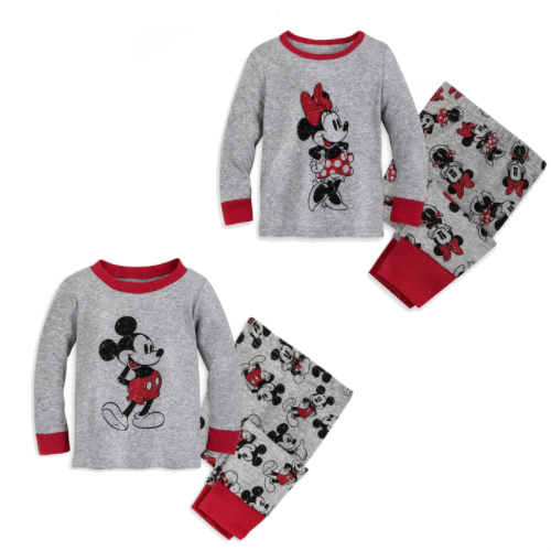 56% off Mickey or Minnie Infant PJs : 2 for $14.98 + Free S/H