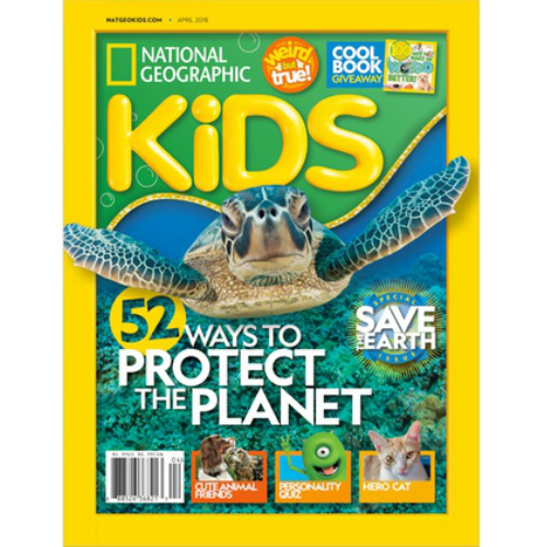 75% off 2-Year National Geographic Kids Magazine Subscription : Only $25