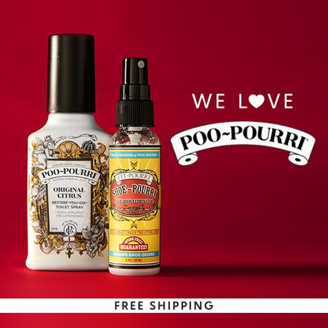 Up to 40% off Poo-Pourri : Starting at $8.99 + Free S/H