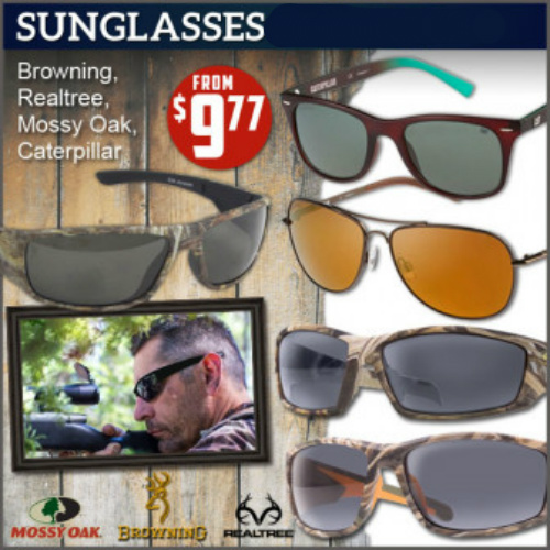 Up to 68% off Men's and Women's Sunglasses : $9.77 + Free S/H