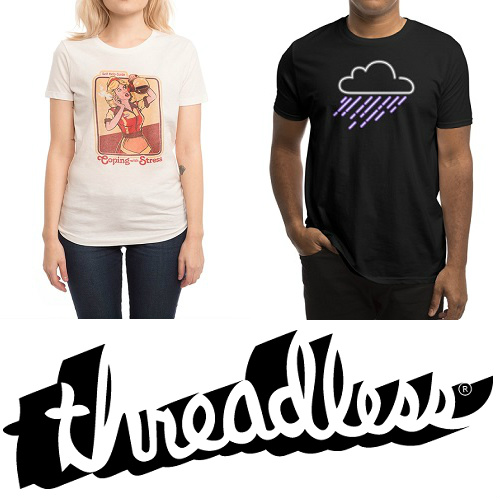 60% off Threadless Tees : Only $10
