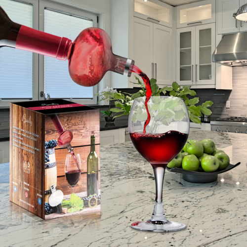 76% off In-Bottle Glass Wine Aerator : $5.99 + Free S/H