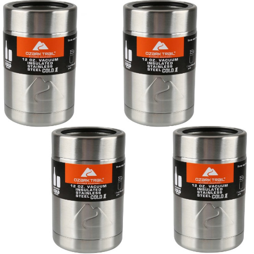 55% off 4-PK of Vacuum Insulated Can Coolers : Only $12