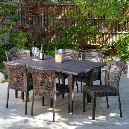 53% off 7-PC Outdoor Dining Set : Only $449.99 + Free S/H