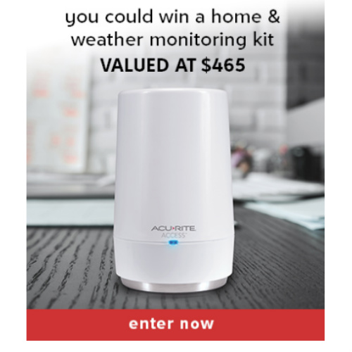 AcuRite Smart Home Sweepstakes