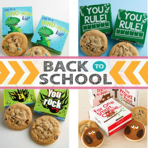 Back To School Cookie Greeting Cards : Only $5.99 + Free S/H