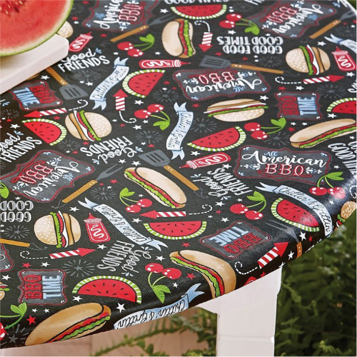 52% off BBQ Themed Tablecloths : Only $4.78 + Free S/H