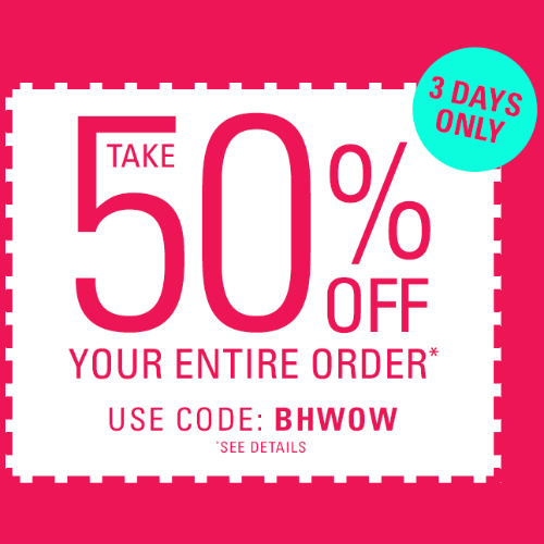 Brylane Home : Extra 50% off Coupon