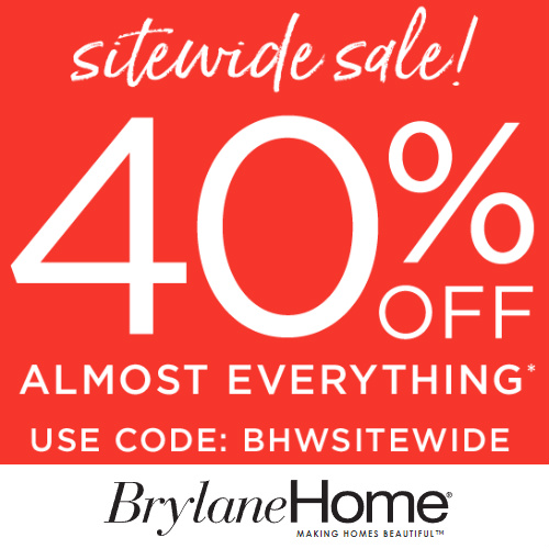 Brylane Home : Extra 40% off Coupon