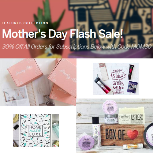 Cratejoy : 30% off Select Gift Box Subscriptions (Gifts from $3/month!)