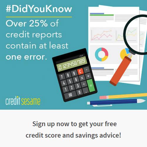 Credit Sesame : 100% Free Credit Report