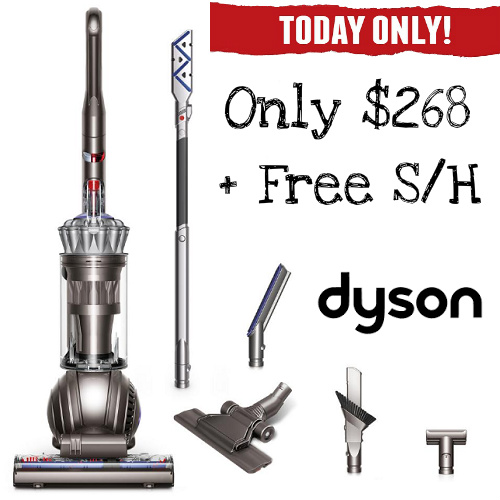 57% off Dyson Ball Total Clean with Extra Tools : Only $268 + Free S/H