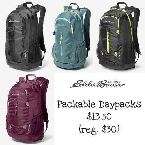 55% off Eddie Bauer Daypacks : Only $13.50