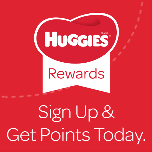 Huggies Rewards Program : Earn Points for Free Diapers, Toys or Gift Cards